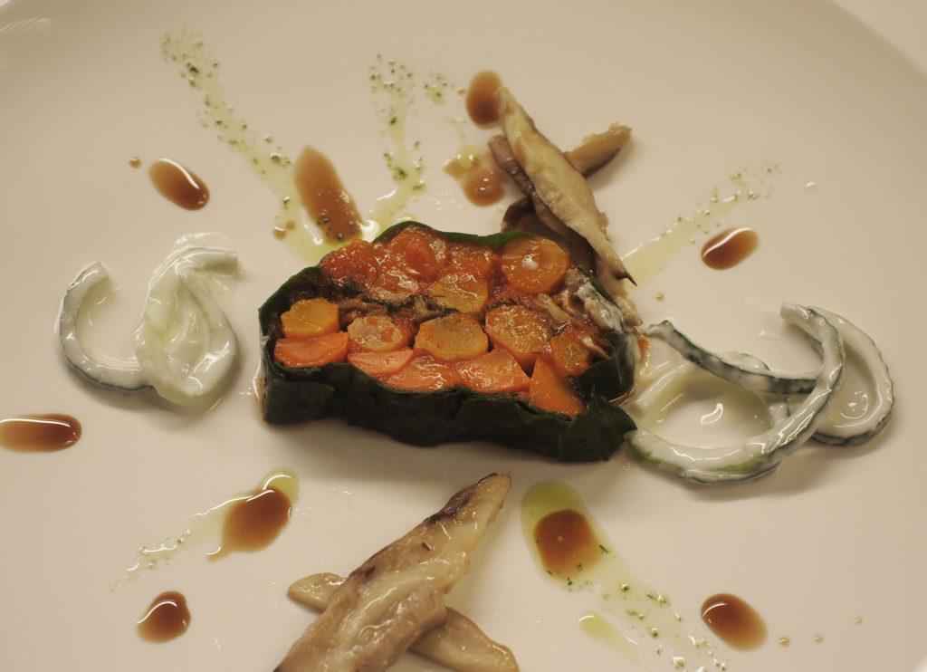 Terrine van bospeen en shiitake