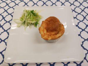 Kaassoufflé (eventueel als pre-dessert)