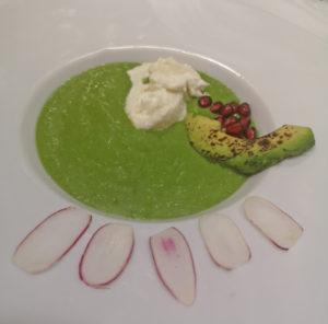 Groene gazpacho